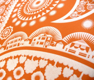 Mini Moderns Wallpaper_Close Up