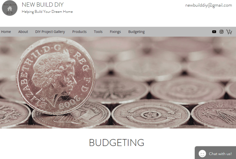 New Build DIY_Budgeting